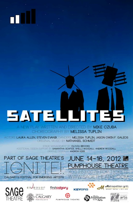 SATELLITES Poster - Design by Andrew Kerr