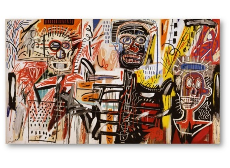 Philistines by Jean Michel Basquiat