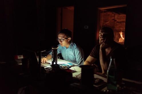 Mchael Luong, Mike Czuba.