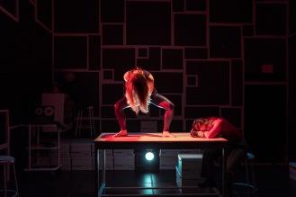 Amy Sawka, Melissa Tuplin, Michelle Brandenburg. Set & Lights by Leon Schwesinger. Photography by Harry Papavlasopoulos