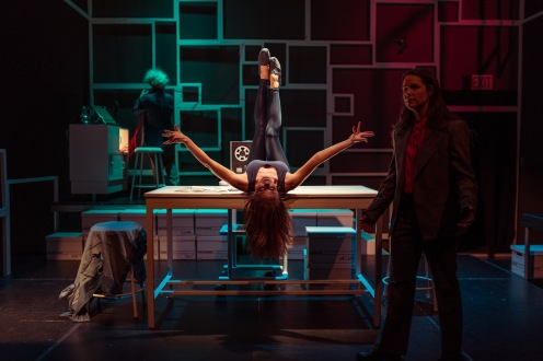 Amy Sawka, Melissa Tuplin, Michelle Brandenburg. Set & Lights by Leon Schwesinger. Photography by Harry Papavlasopoulos