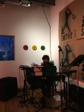 Nathaniel Schmidt playing a selection form Satellites