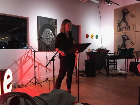 Laura Allen reading from Satellites